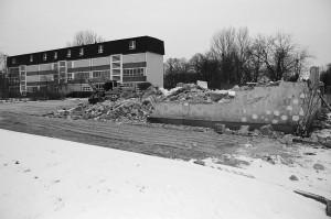 Abriss Gemeindezentrum